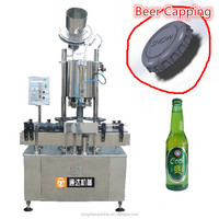 automatic crown bottle capper for beer