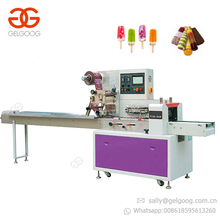 Automatic Horizontal Ice Cream Popsicle Ice Lolly Packing Machine
