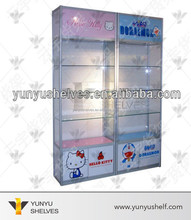 best selling new products glass display case with light