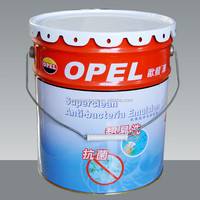 18L Tinplate bucket with steel handle for paint, coating or other chemical products