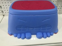 high quality plastic Children tooth cleaning footstool