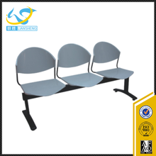 Airport Use 3 Seater Chair Metal Airport Chair Waiting Area