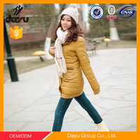 women fashion clothes down jacket wholesale ladies winter jacket undetachable hood winter jacket