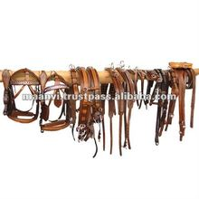 Leather harness set