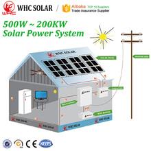 20KW Off-Grid Solar System For Factory And Power Station Solution