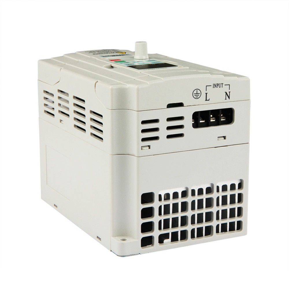 VFD 0.7KW/1.5KW/2.2KW 1-3HP Converter Voltages 110/200/240V with CE IOS9000 Certification