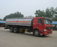 2 or 3 axles hydrolic anti acid tank truck