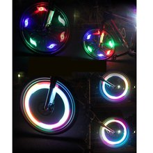 Bike Spoke Light Led Bicycle Lights Bicycle Accessories Flash Lamp Cycling MTB Tire Valve Led Bicycle Wheel Light