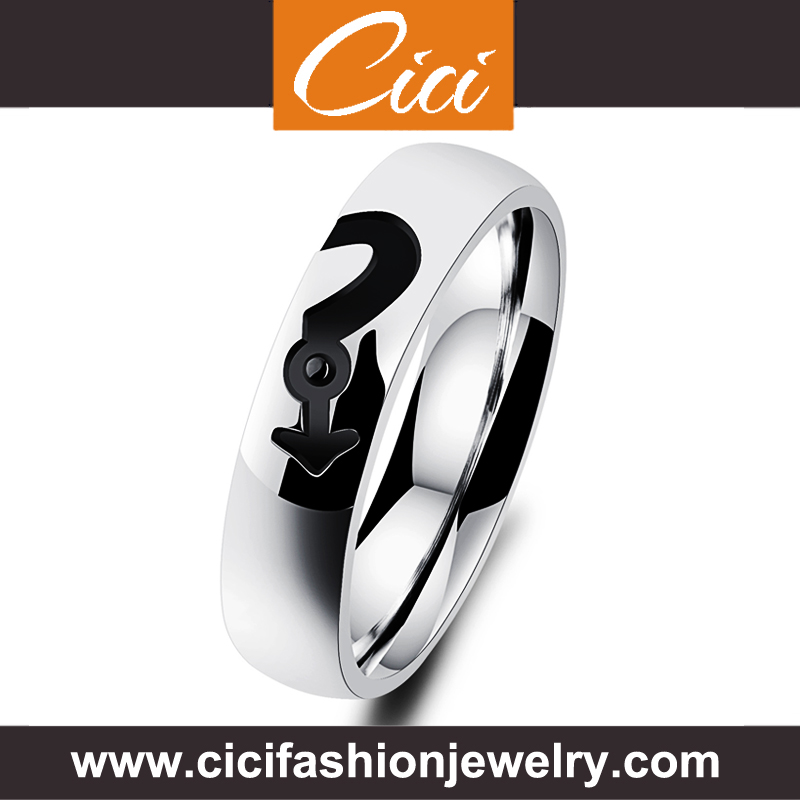 Wholesale Best Seller Silver Ring Black Silver Ring In Thumb Ring Engraving Melbourne