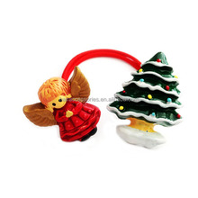 Wholesale Christmas gift- baby girls hair accessories of kids hair ties/ponytail holder
