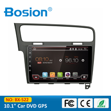 New Arrival Android 4.4.4 LCD Touch Screen 2 Din Car Radio for VW Golf 7 GPS Navi with Bluetooth 3G Wifi