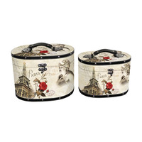 Best selling good quality cheap decorative storage boxes wholesale with Marilyn Monroe and Eiffel tower