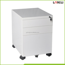 Iron material steel pedestal filing cabinet storage cabinet