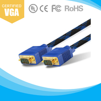 LVS hot sale 15pin rgb vga cable for monitor pc
