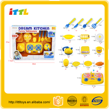 Hot item kids cooking play set toys plastic chicken toys for kids kids kitchen set