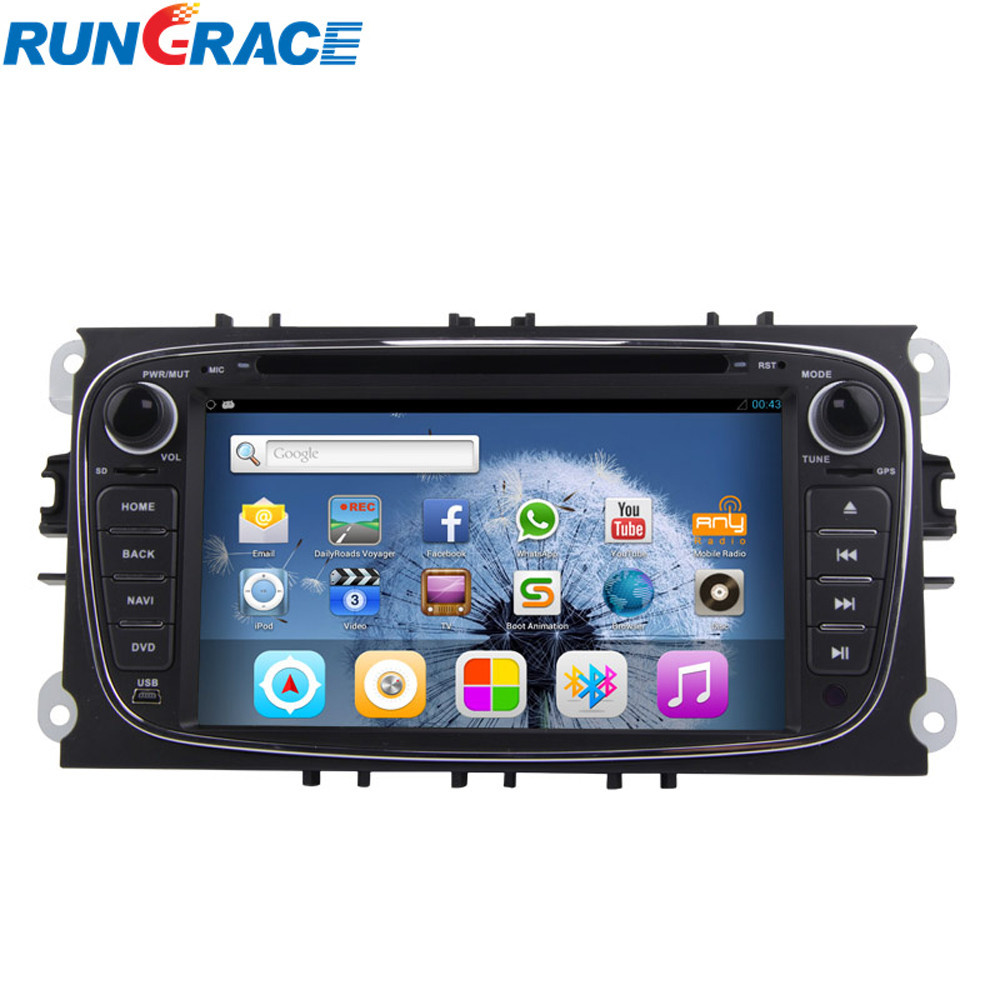 android 4.2.2 car multimedia and entertainment system navigation for mondeo