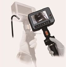 3mm automotive industrial video borescope with 360 degress rotation tip