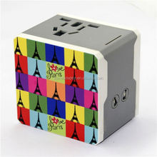 2014 Newest!Newest!Best Selling anniversary gifts could company photo printing wholesale phone accessories USB travel adapter