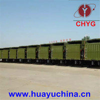 Best-selling cattle transport truck trailer made in China
