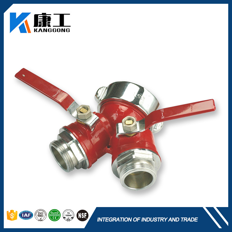 Truck Air Brake Fire Extinguisher Hand Switch Control Stainless Valve