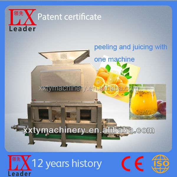 Tianyu leader brand stainless steel passion fruit juice processing machinery