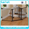 For Amazon and eBay stores Walk-Thru Pet Dog Gate Child Safety Barrier Fence