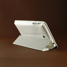 newest luxury white pu fip case for ASUS ,china manufacture cheap book style cover for ASUS on sale