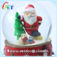 Christmas Santa Resin Hang Painted Water