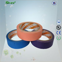 heat resistance automotive 14 days UV masking tape for DIY with paint brush