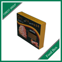 CUSTOM WHOLESALE FOOD GRAD PAPER BOX FOR FROZE