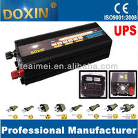 dc12v to ac220v 2500W modified sine wave power inverter with UPS with 20A charger/doxin