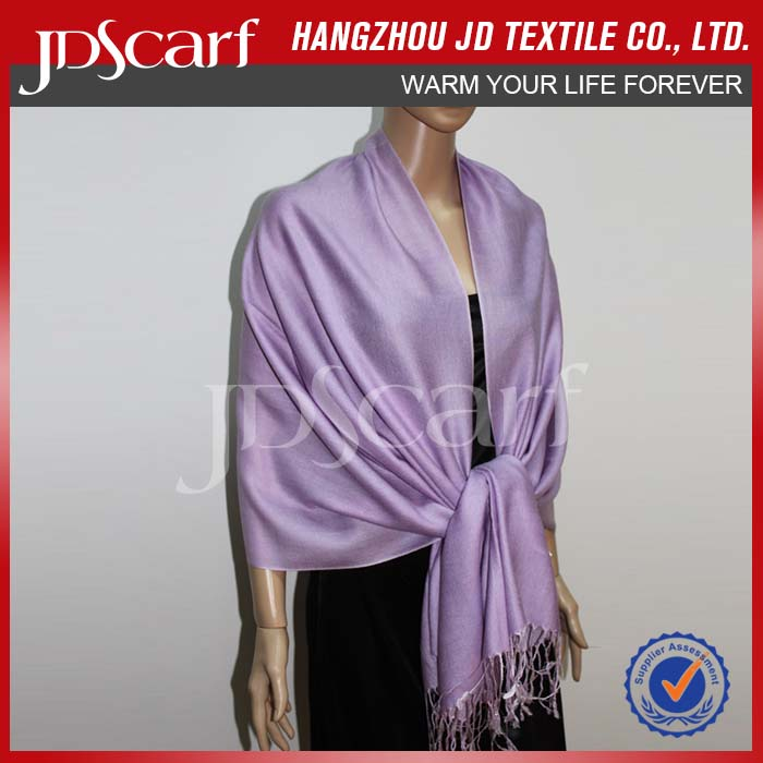 factory directly fashional cheap scarf white silk wool scarf