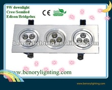 9w spot downlight parts gpl
