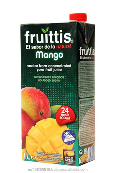 FRUITTIS mango fruit Juice nectar carton 12x1l