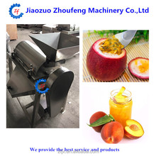 high capacity stainless steel passion fruit pulp machine equipment/fruit juice processing machine