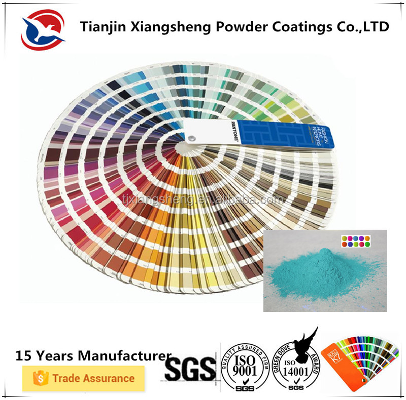 epoxy polyester pantone color paint