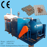 Automatic egg tray machine / paper egg tray making machine / egg tray making plant