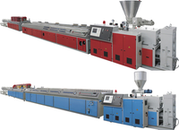 machine for produce pvc wall panel, wpc pvc profile production line