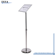 Height Adjustable A4 Poster Display Stand