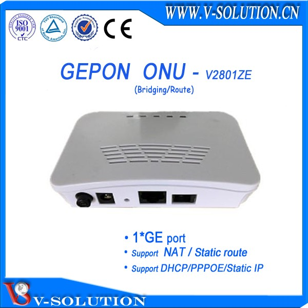 4GE+WIFI+ RF Port GPON CTAV ONU with 300Mbps Wireless Supported WEB/TELNET/OAM/OMCI/TR069