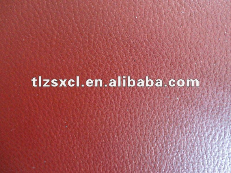 Firm and Soft synthetic PU leather material for outer cladding