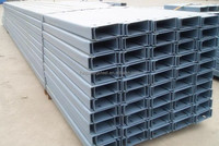 U Channel Steel Beam price sizes with standard