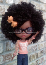 Top Beauty 100% Virgin Brazilian human hair 18 inch doll wig