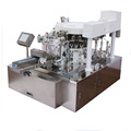 tea liquid filling stand up pouch filling and sealing machine