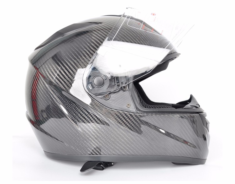 High performance OEM Custom lightweight aerospace grade carbon fiber motorcycle helmet
