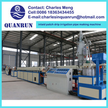 inlaid patch drip irrigation pipe making machine