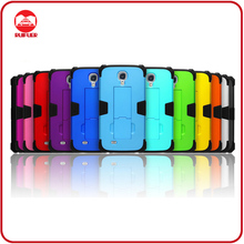 2013 New Kickstand Tuff Defender 3 in 1 Combo Hybrid Protector Case for Samsung Galaxy S4 i9500