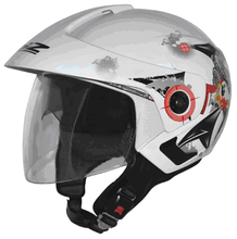 Motorcycle open face helmet with double visors, DOT, CE approved, ABS shell, 2015 new design, wholesale