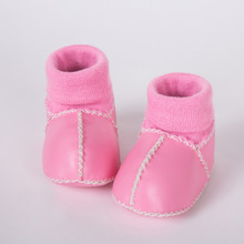 wholesale handmade baby sock shoes girl leather moccasins own factory