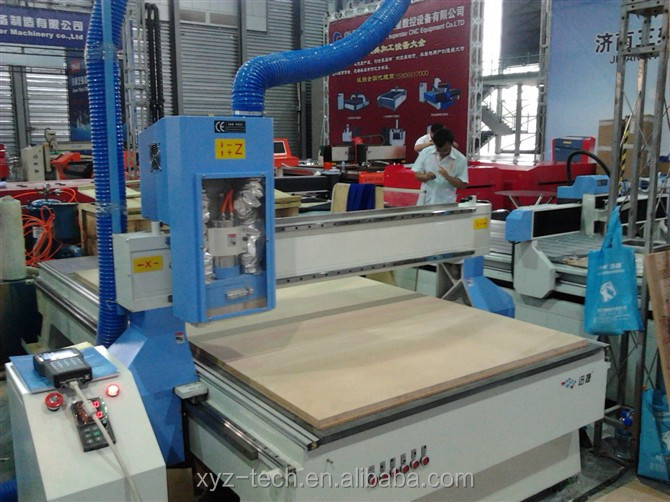 low price China professional cnc router machine woodworking 1325 with Taiwan TBI ball screws